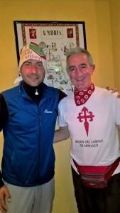 con l'organizzatore Maurizio ORNELLA