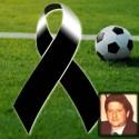 V^ di campionato Lega Calcio a 8, la ROMA con il lutto al braccio in ricordo di Paparelli