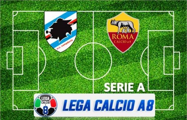 Lega Calcio a 8 Serie A - Sampdoria - Roma del 21 ottobre 2019 alla Stella Azzurra