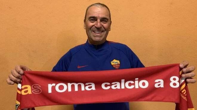Pietro Filoso, il nuovo allenatore dei giallorossi della AS ROMA CALCIO A8