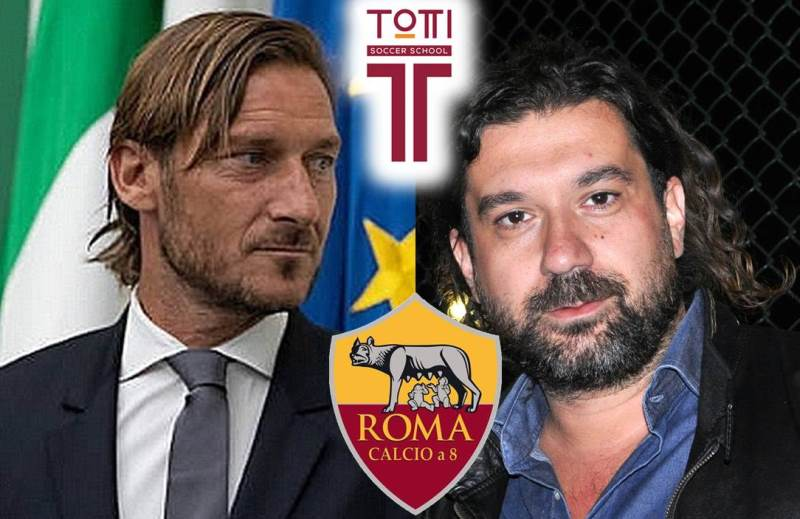 Totti Sporting Club vs AS ROMA Calcio a 8, lunedì 14 ottobre 2019 ore 21.00 al Centro Sportivo della Longarina per la terza di campionato serie A Lega Calcio a 8