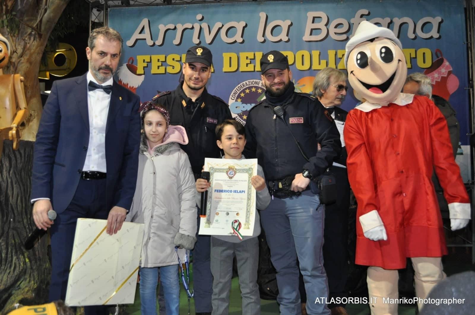 Arriva LA BEFANA Festa DEL POLIZIOTTO CONSAP