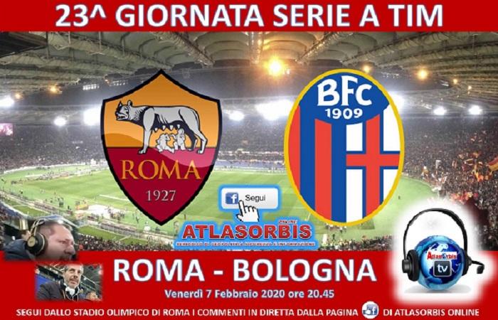 ROMA - BOLOGNA - 23^ GIORNATA DI CAMPIONATO SERIE A TIM