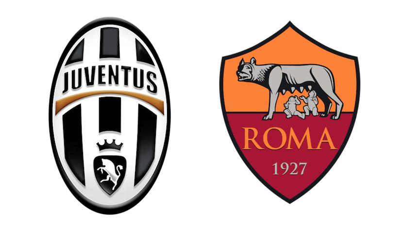 Juventus-Roma. Campionato serie A TIM 2019/2020
