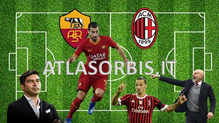 Roma - Milan - ATLASORBIS.IT