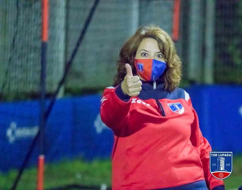 Maria Cristina Viozzi della Scuola calcio ASD Tor Lupara