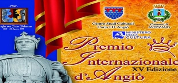 XV^ edizione del Premio Internazionale D'Angiò