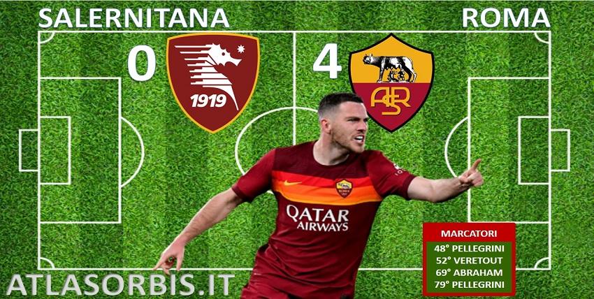 Atlasorbis - Salernitana vs Roma - 0-4