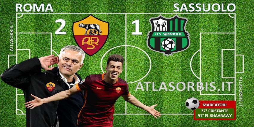 Atlasorbis - Roma vs Sassuolo - 2-1