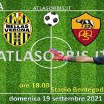 Verona vs Roma: giallorossi direzione quaterna, oggi la  4^ di campionato allo stadio Bentegodi, news e probabili formazioni (#atlasorbis)