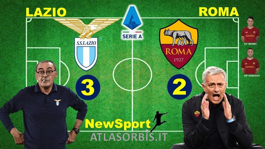 Atlasorbis - Lazio vs Roma - 3-2