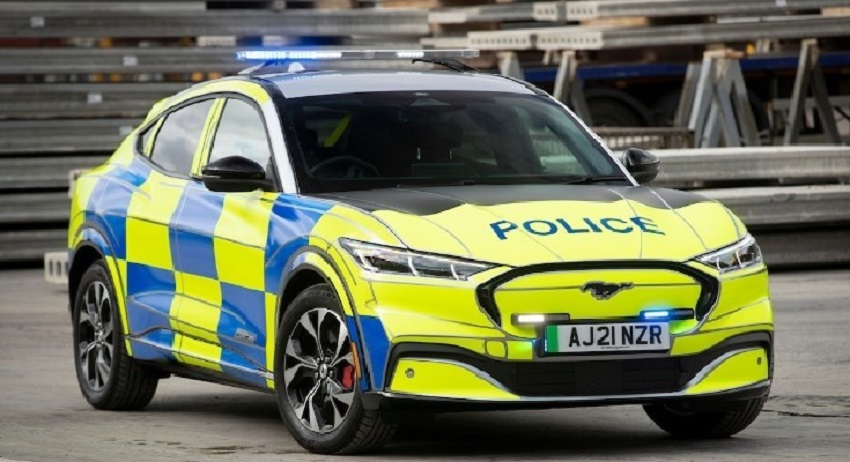 Polizia Inglese Mustang Mach-E - Atlasorbis News