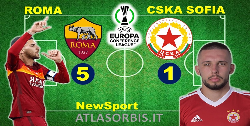 Roma vs Cska Sofia - 5-1 - NewSport - Atlasorbis - Conference League