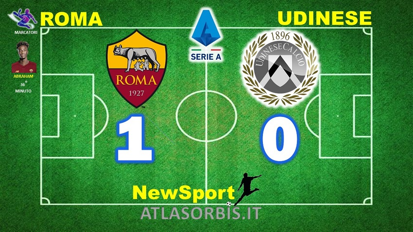 Roma vs Udinese 1-0 - NewSport - Atlasorbis