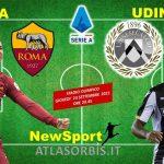 Roma vs Udinese: giallorossi al riscatto, domani la  5^ di campionato allo stadio Olimpico, news e probabili formazioni (#atlasorbis)