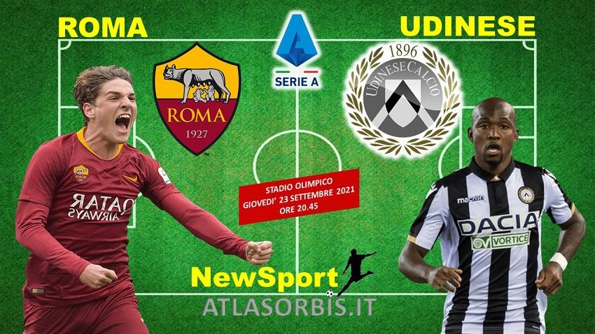 Roma vs Udinese - NewSport - Atlasorbis