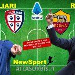 CAGLIARI vs ROMA:  oggi 10^ di campionato per i giallorossi  allo Stadio Unipol Domus, in panchina Joao Sacramento, news e probabili formazioni (#atlasorbis)