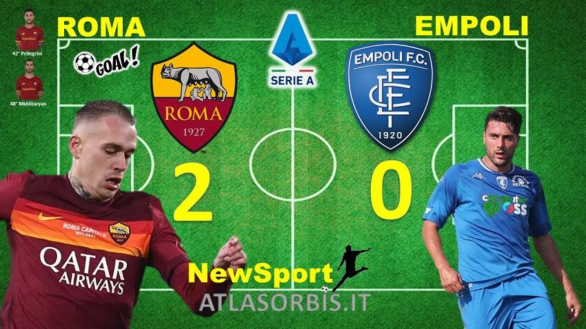 Roma vs Empoli 2-0 - NewSport - Atlasorbis