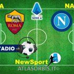 LIVE – ROMA 0 Napoli 0 (termine partita), dallo Stadio Olimpico, diretta, formazioni ufficiali, news, commenti e risultato partita (#atlasorbis)