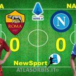 ROMA -NAPOLI a ritmi alti, finisce 0-0 con i giallorossi che bloccano la marcia dei partenopei, espulsi Mourinho e Spalletti (#atlasorbis)