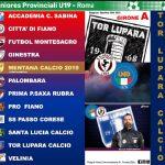 TOR LUPARA Calcio, ripartenza dei Campionati Provinciali (#atlasorbis)